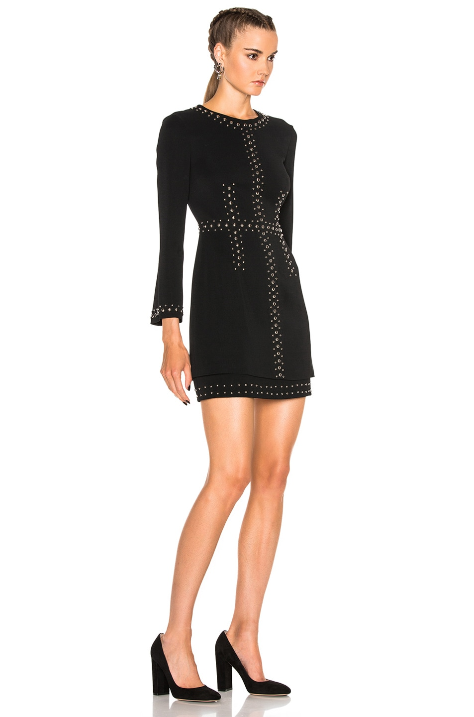 Image 3 of A.L.C. Madison Dress in Black