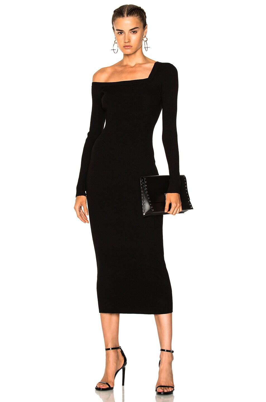 Image 1 of A.L.C. Brynn Dress in Black