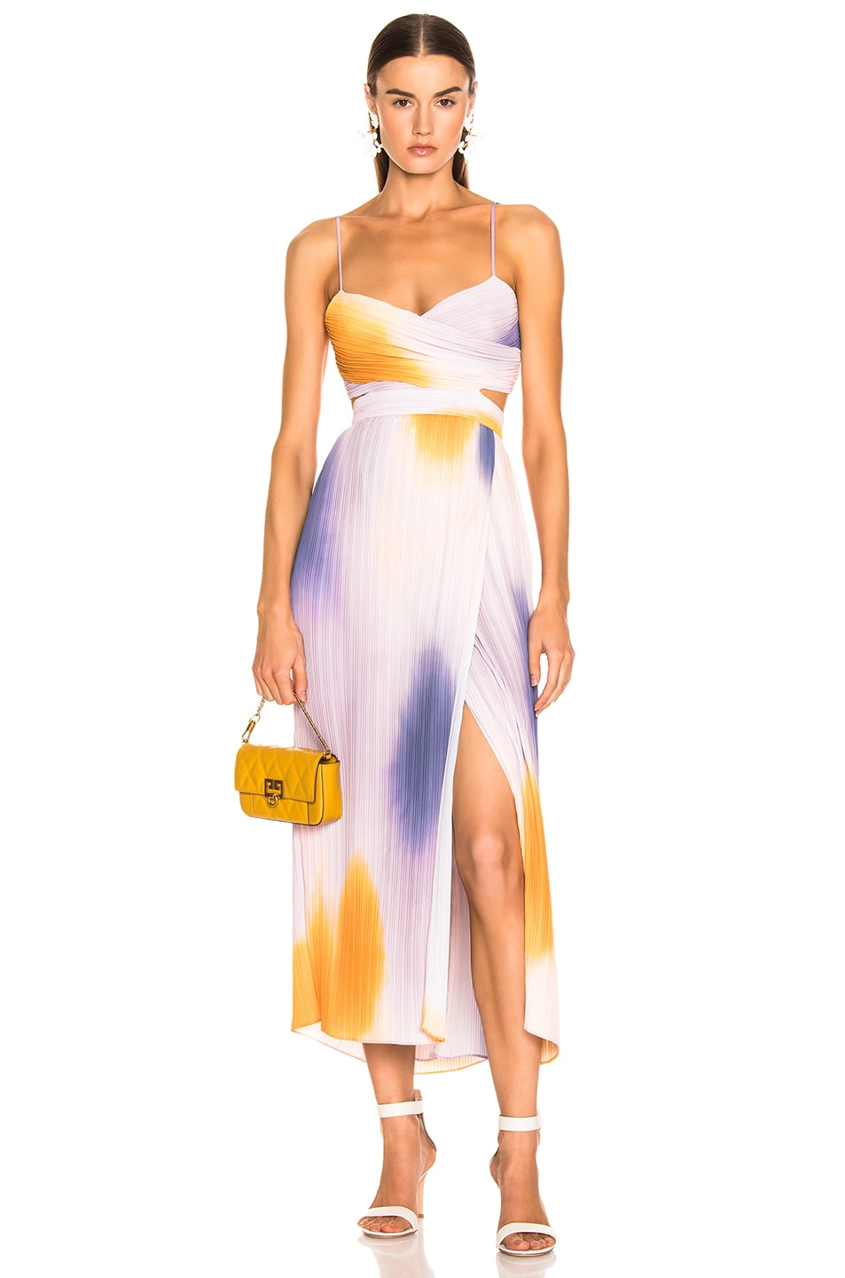 Image 1 of A.L.C. Sienna Ombre Dress in Multi