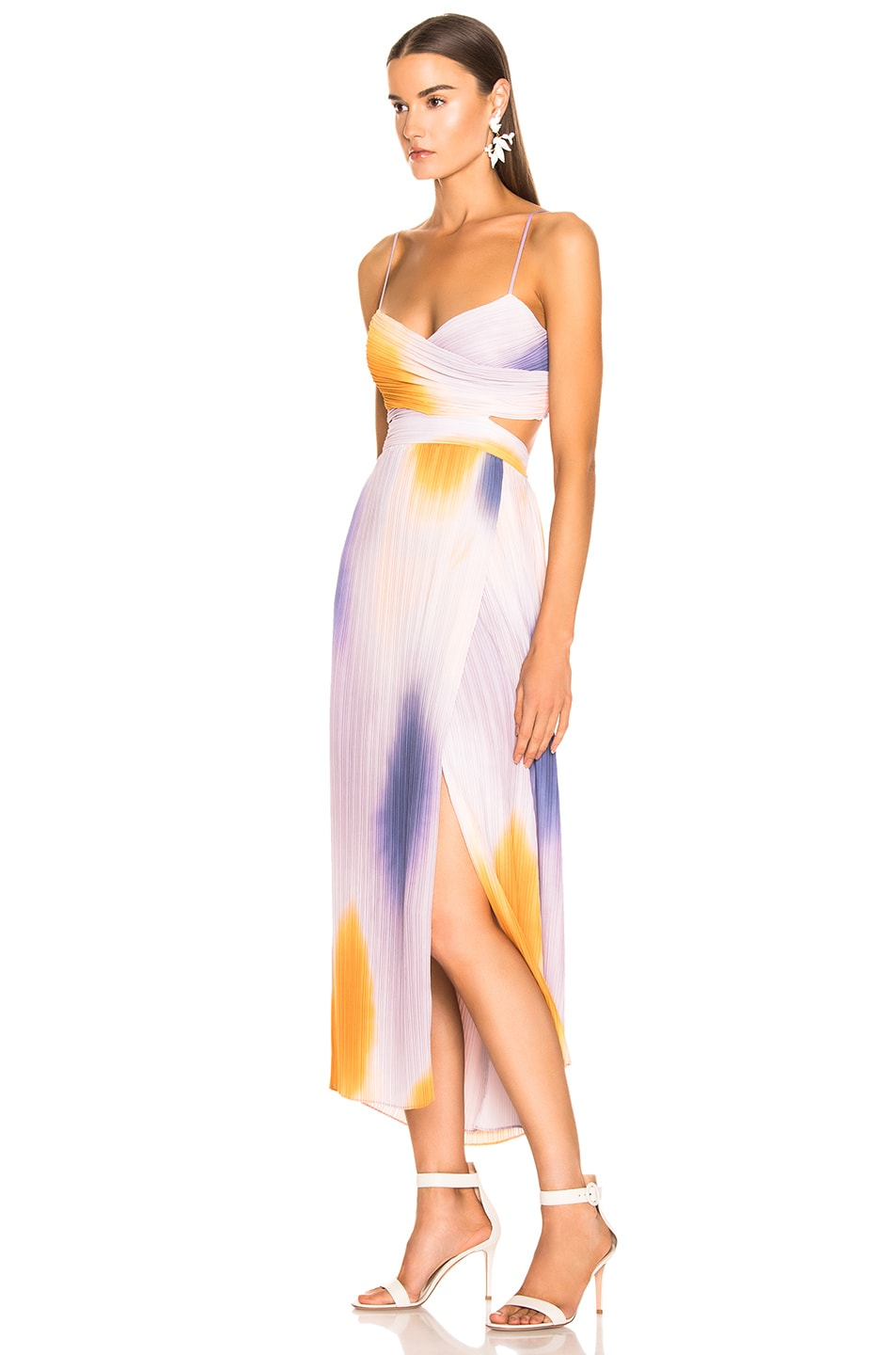 Image 3 of A.L.C. Sienna Ombre Dress in Multi