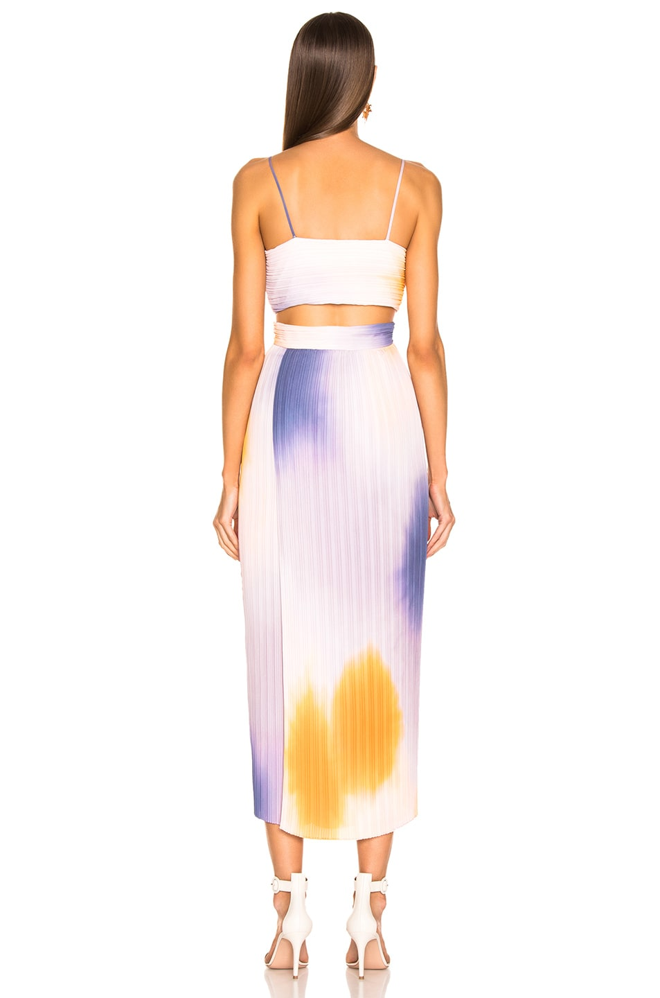 Image 4 of A.L.C. Sienna Ombre Dress in Multi