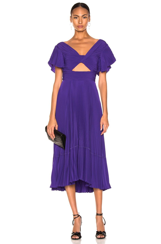Image 1 of A.L.C. Sorrento Dress in Violet