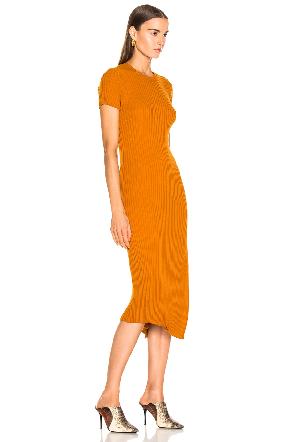 Image 2 of A.L.C. Minetta Dress in Light Honey