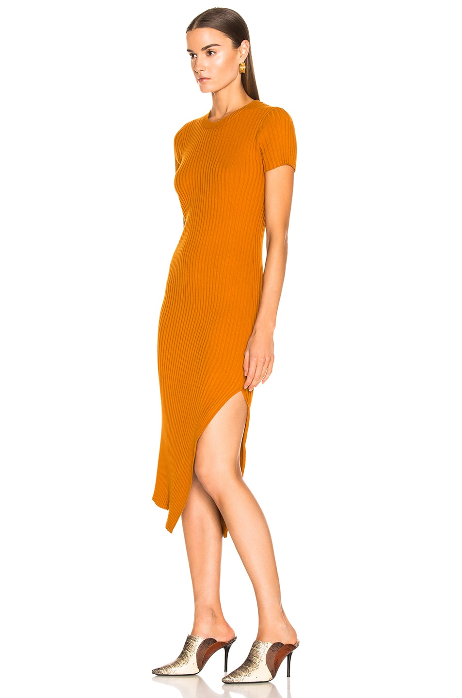Image 3 of A.L.C. Minetta Dress in Light Honey