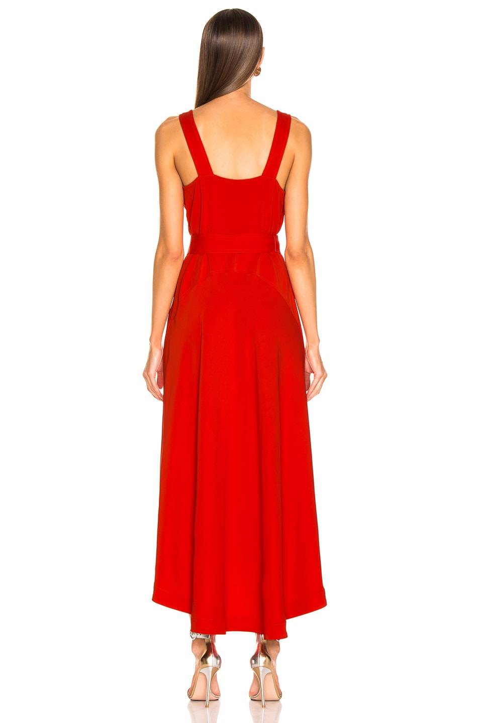 Image 4 of A.L.C. Haley Dress in Poppy