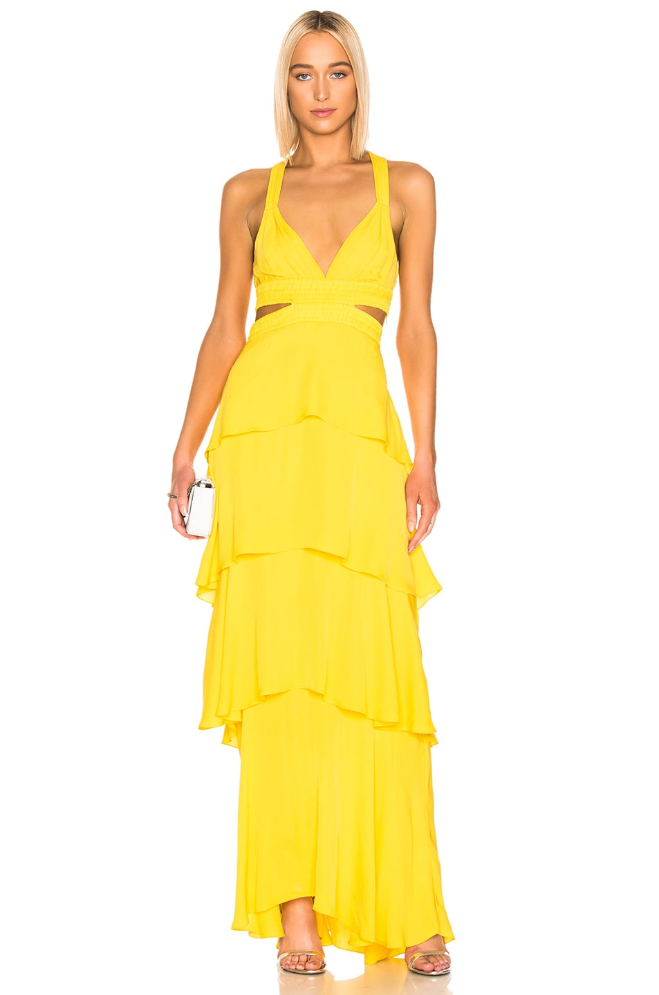 Image 1 of A.L.C. Lita Dress in Yellow