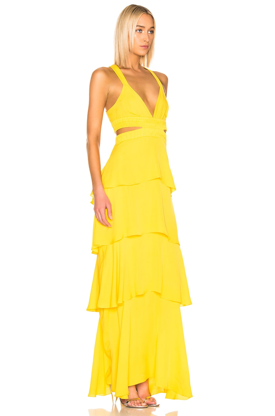 Image 2 of A.L.C. Lita Dress in Yellow