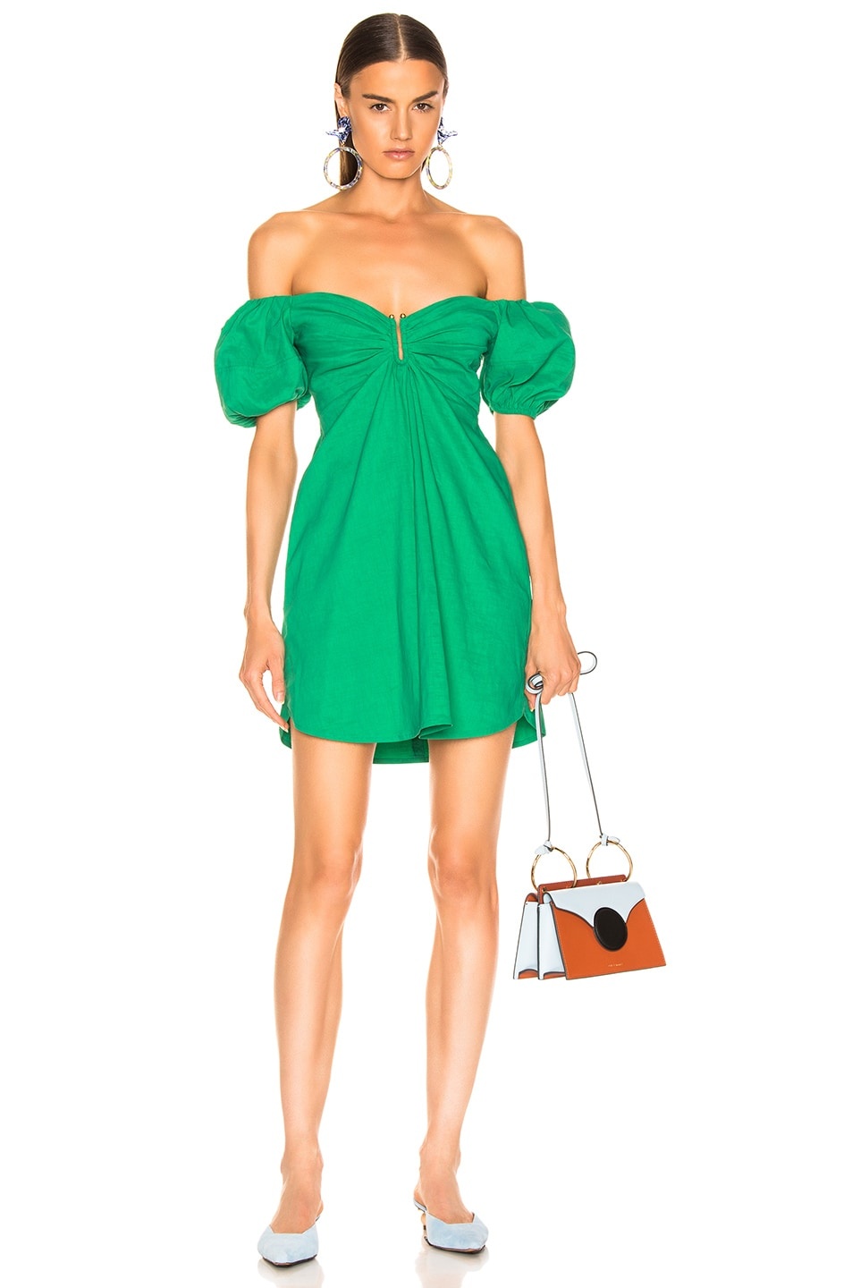 Image 1 of A.L.C. Aniston Dress in Jade