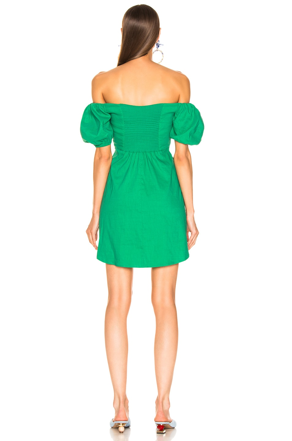 Image 3 of A.L.C. Aniston Dress in Jade