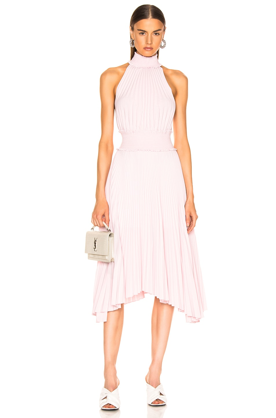 Image 1 of A.L.C. Renzo B Dress in Pale Pink