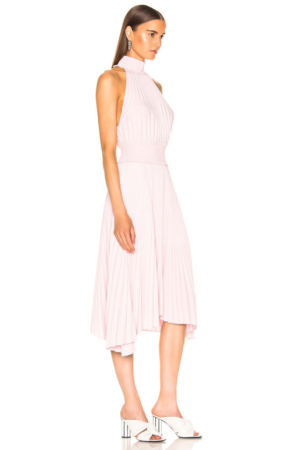 Image 2 of A.L.C. Renzo B Dress in Pale Pink