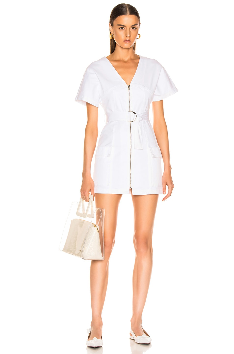 Image 1 of A.L.C. Bellamy Dress in Off White