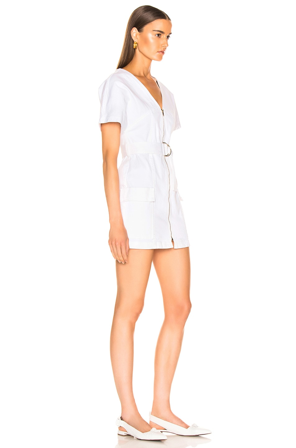 Image 2 of A.L.C. Bellamy Dress in Off White
