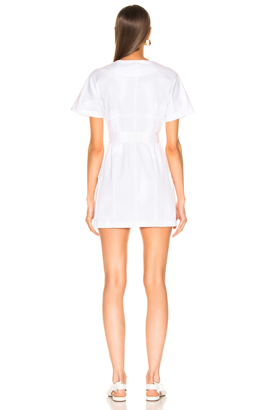 Image 3 of A.L.C. Bellamy Dress in Off White