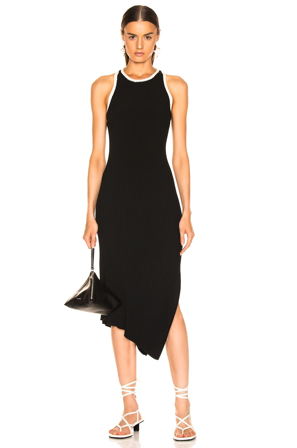 Image 1 of A.L.C. Annina Dress in Black & Natural