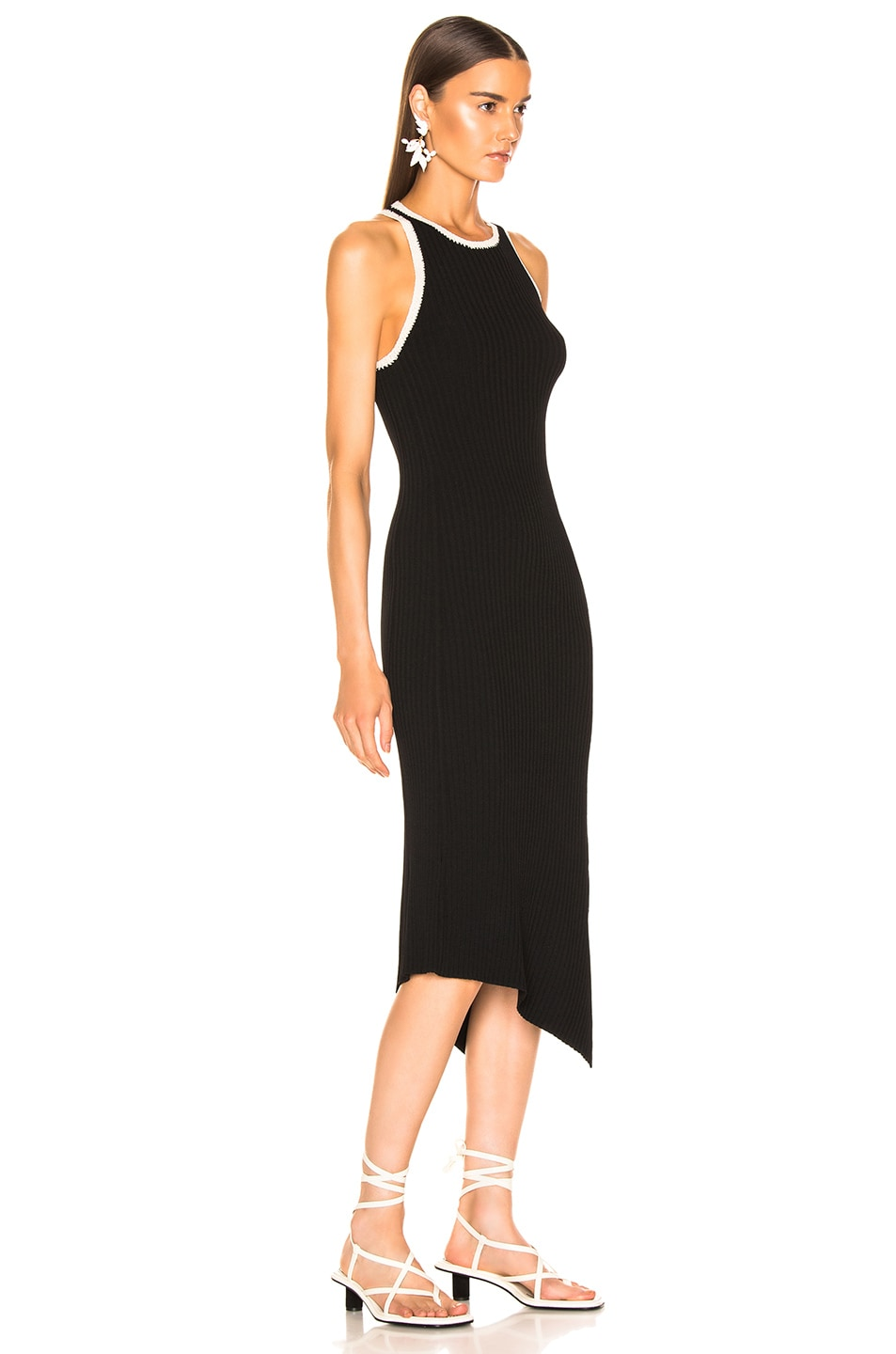 Image 2 of A.L.C. Annina Dress in Black & Natural