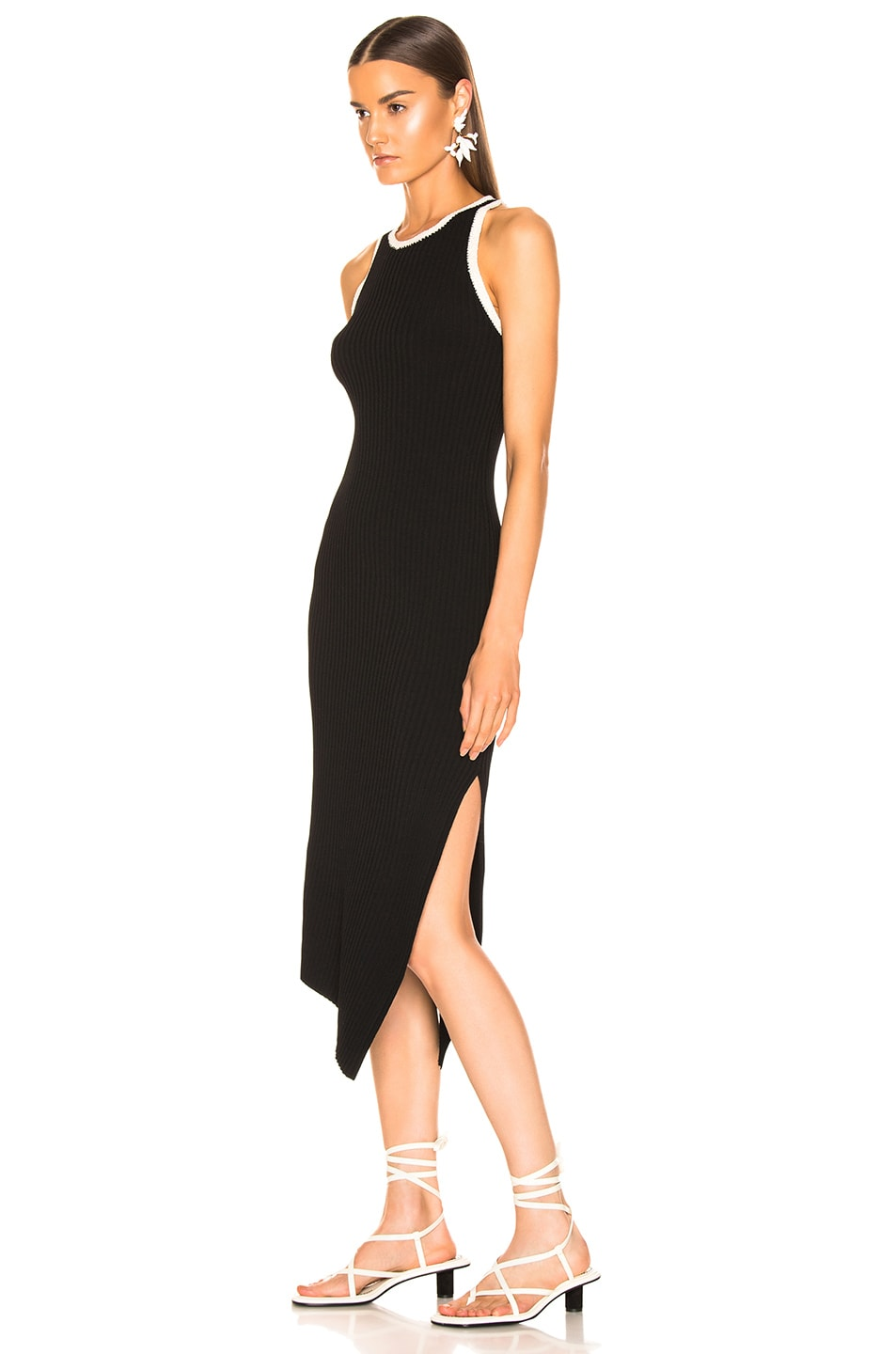 Image 3 of A.L.C. Annina Dress in Black & Natural