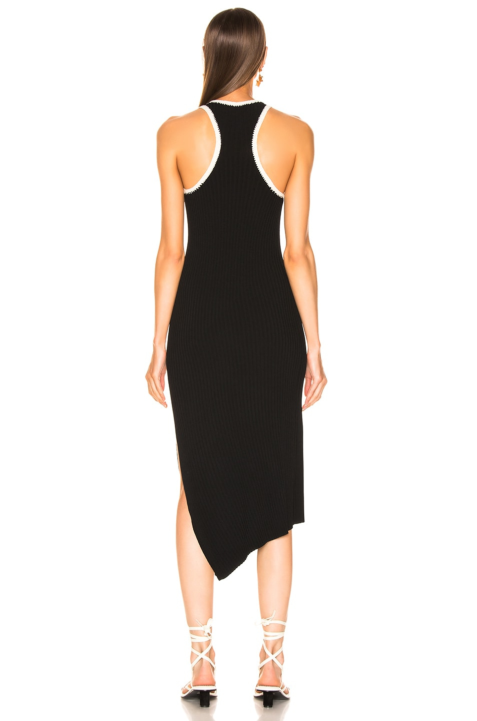 Image 4 of A.L.C. Annina Dress in Black & Natural