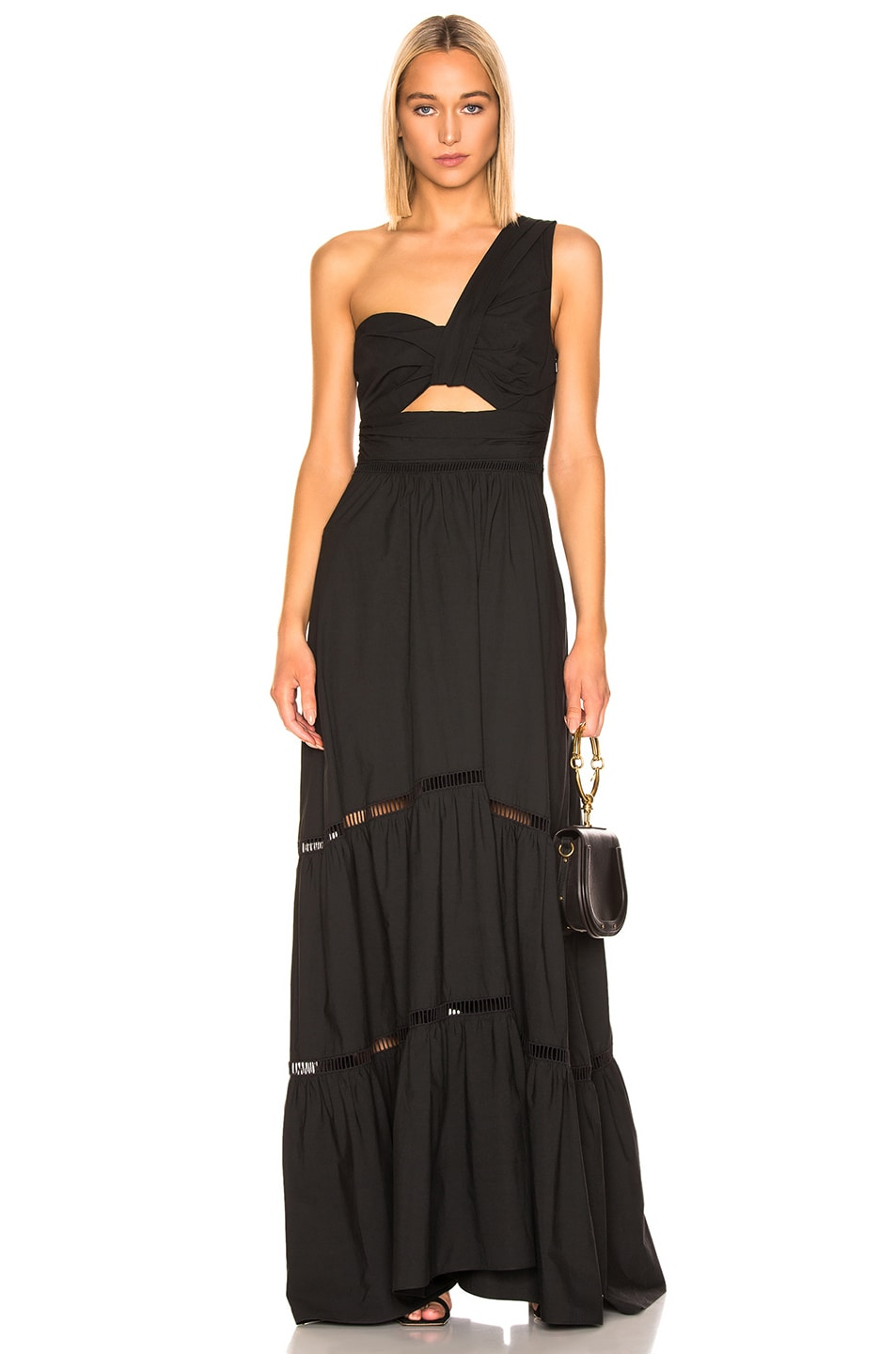 Image 1 of A.L.C. Piper Dress in Black