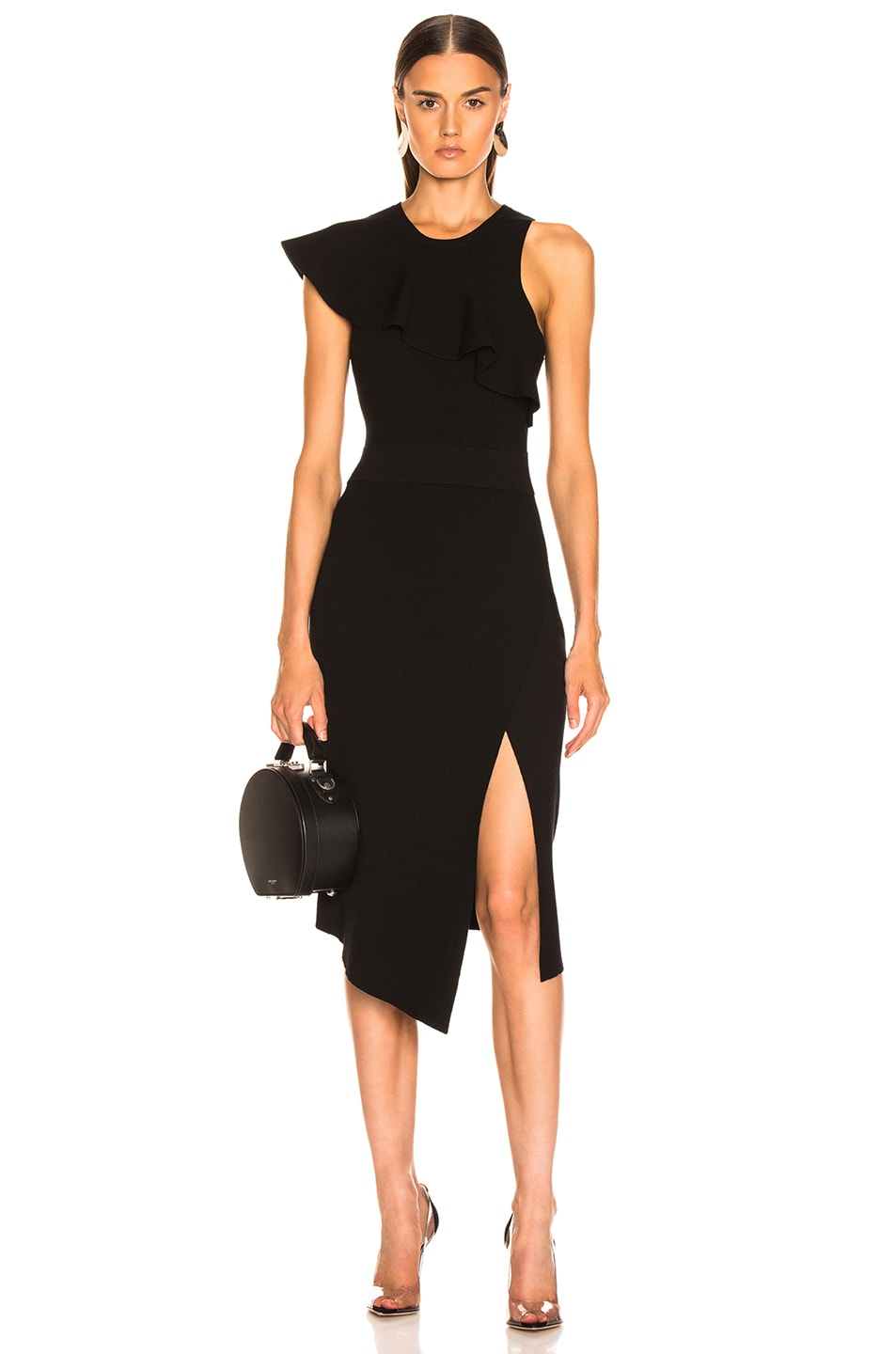 Image 1 of A.L.C. Nicola Dress in Black
