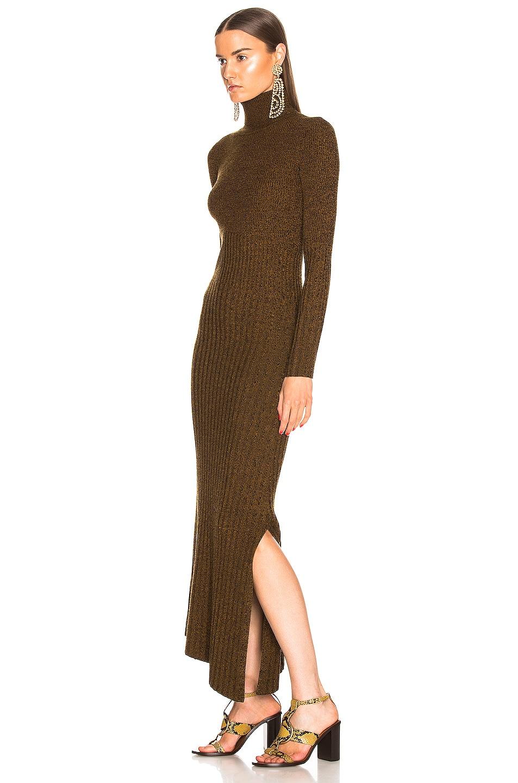 Image 3 of A.L.C. Emmy Dress in Honey & Black