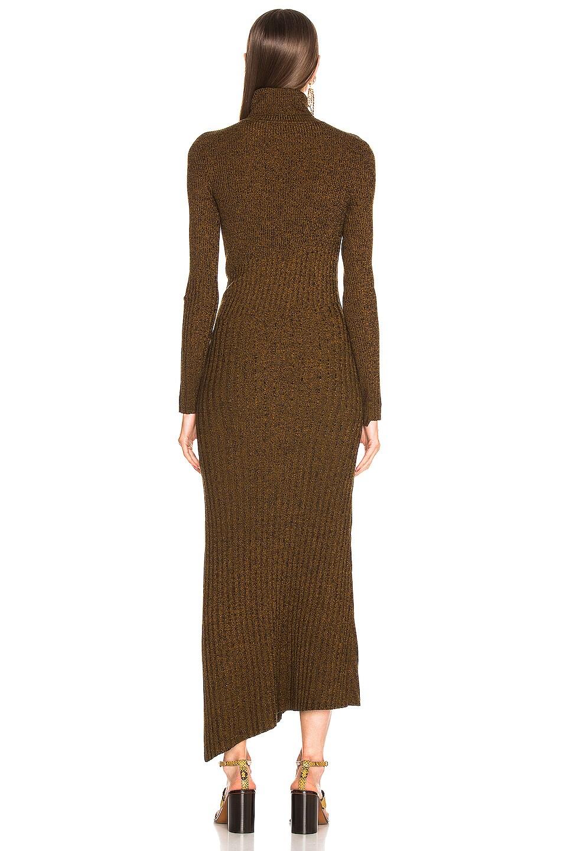 Image 4 of A.L.C. Emmy Dress in Honey & Black