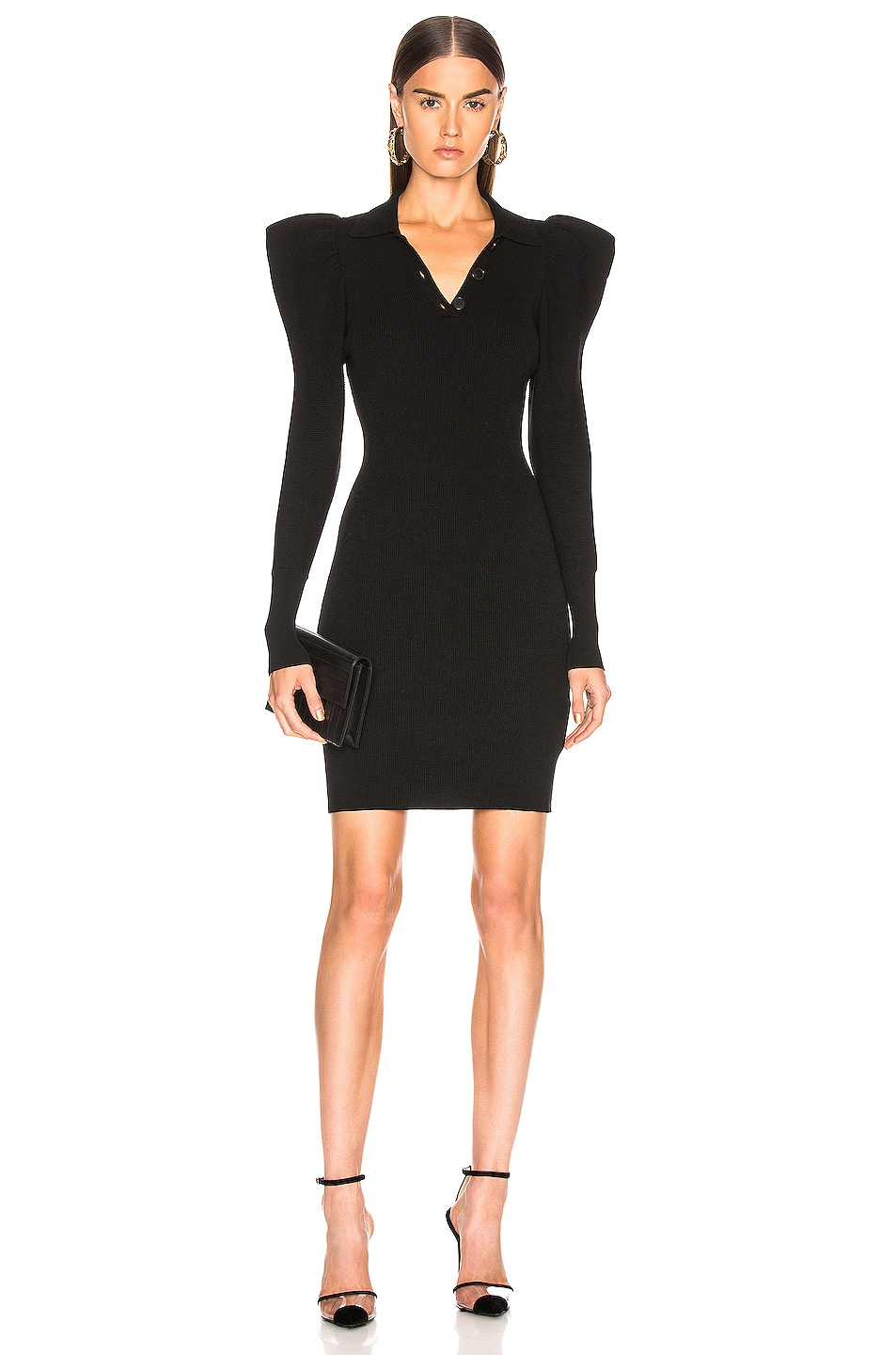 Image 1 of A.L.C. Amina Dress in Black