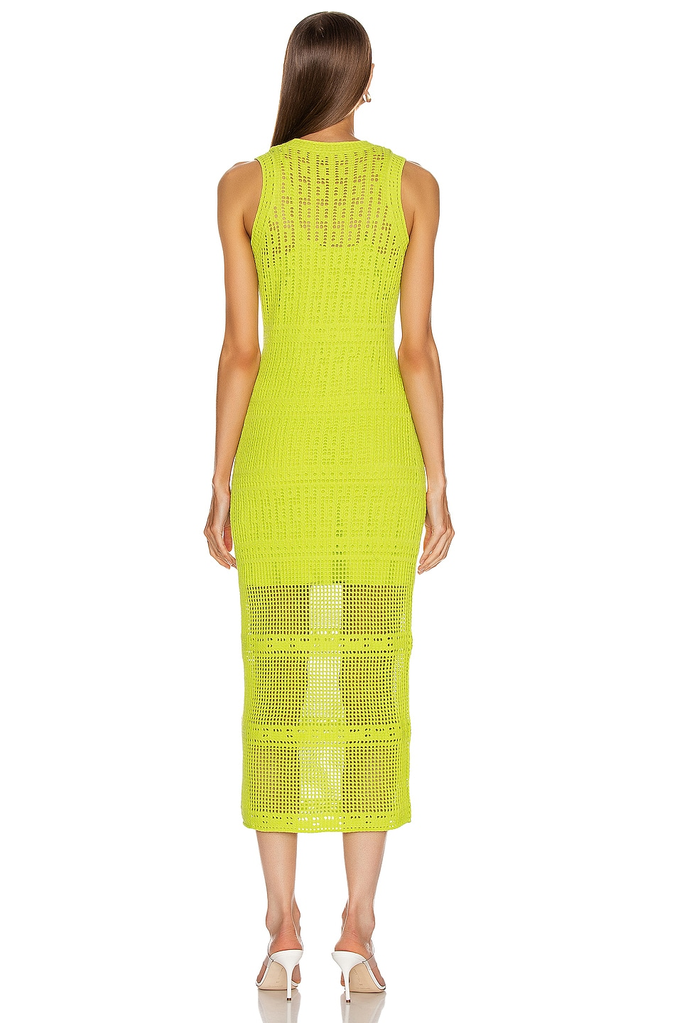 Image 3 of A.L.C. Monaghan Dress in Citronella