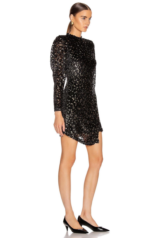 Image 2 of A.L.C. Jane Dress in Black & Gold