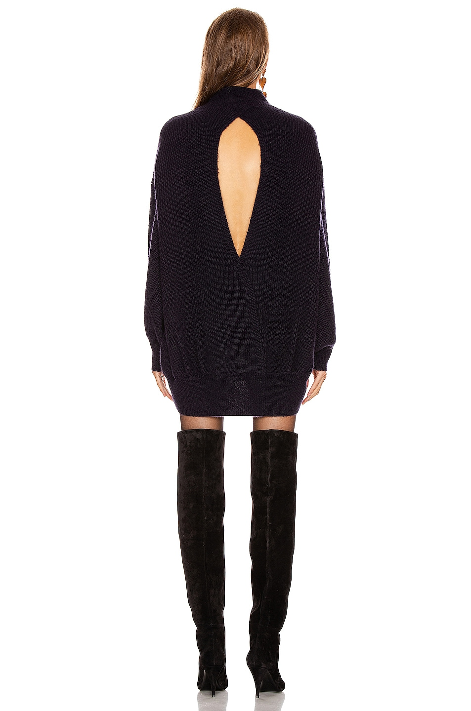 Image 4 of A.L.C. Lafayette Sweater Dress in Midnight