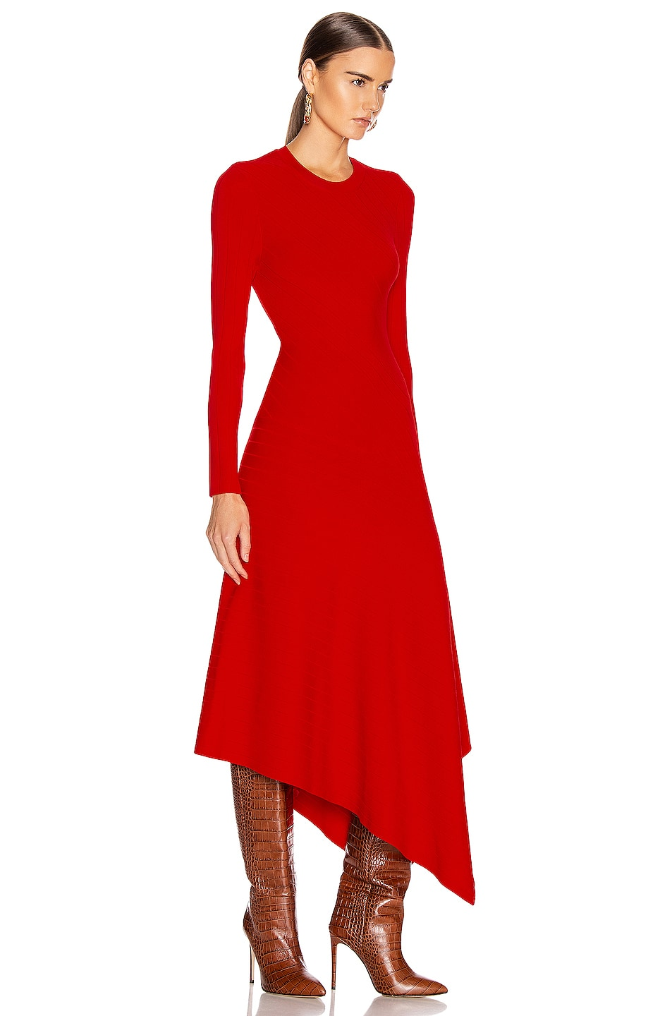 Image 2 of A.L.C. Viviana Dress in Red