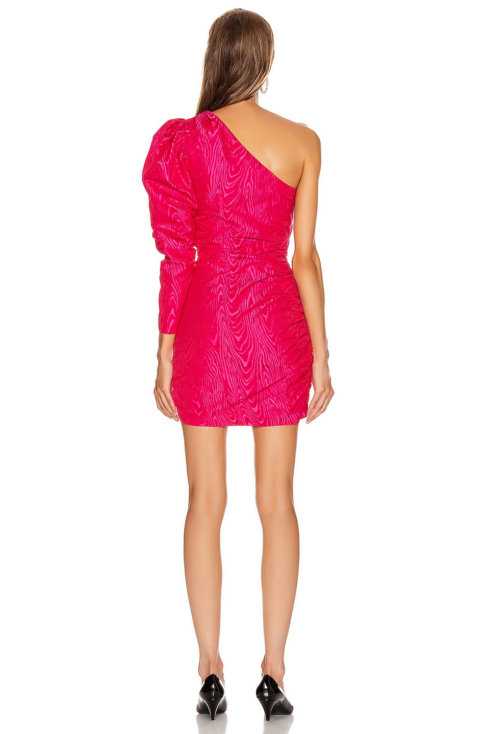 Image 4 of A.L.C. for FWRD Leighton Dress in Bright Berry