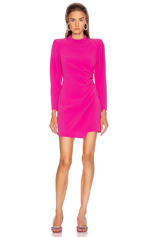 Image 1 of A.L.C. Jane Dress in Shocking Pink