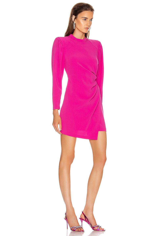 Image 2 of A.L.C. Jane Dress in Shocking Pink