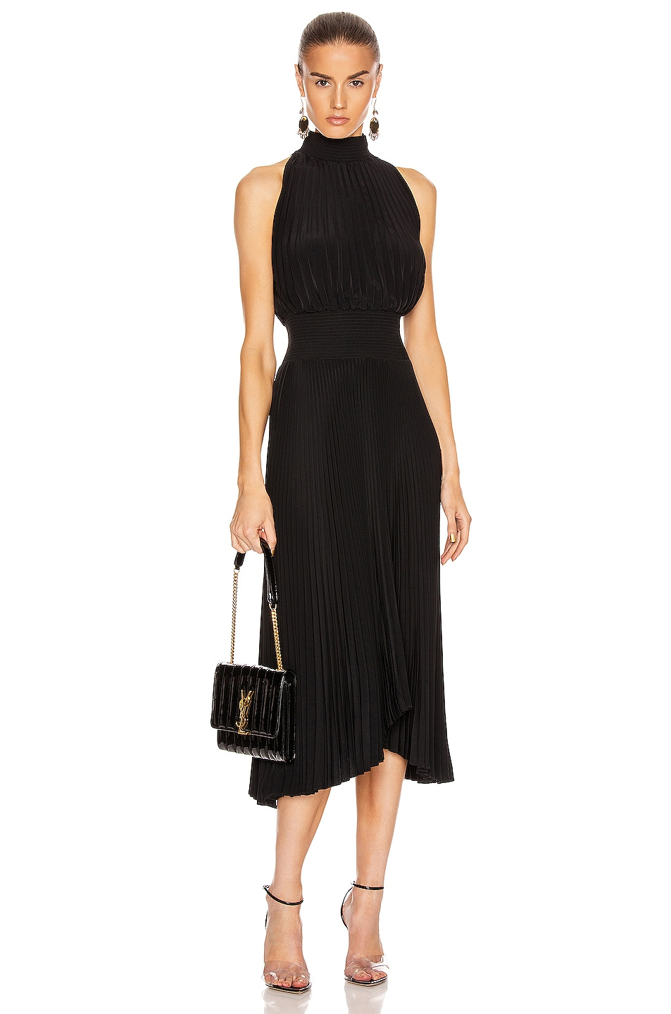 Image 1 of A.L.C. Renzo Dress in Black