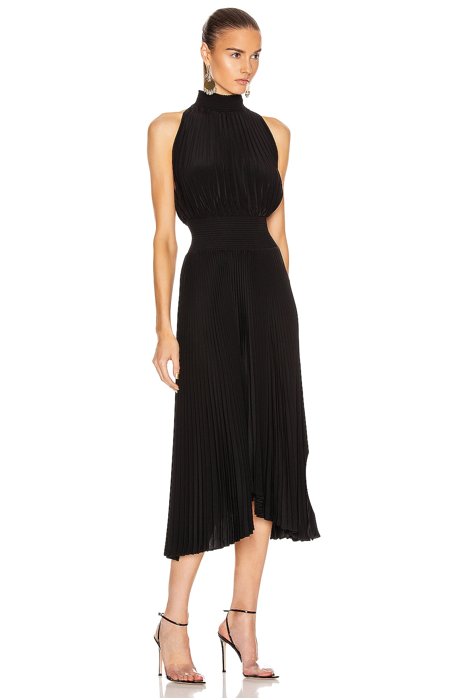 Image 2 of A.L.C. Renzo Dress in Black