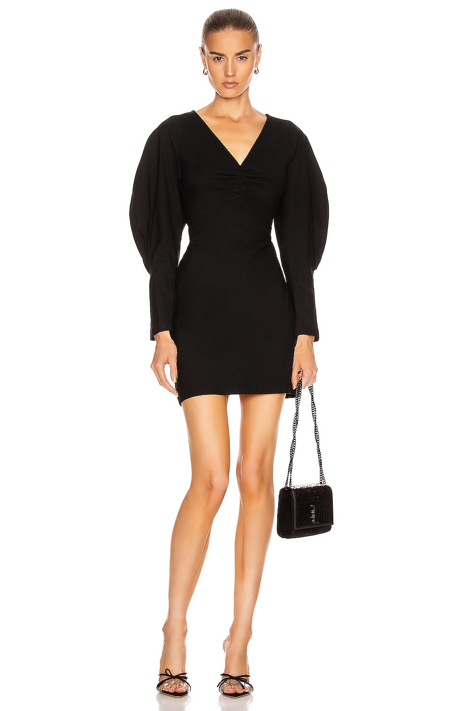 Image 1 of A.L.C. Aila Dress in Black