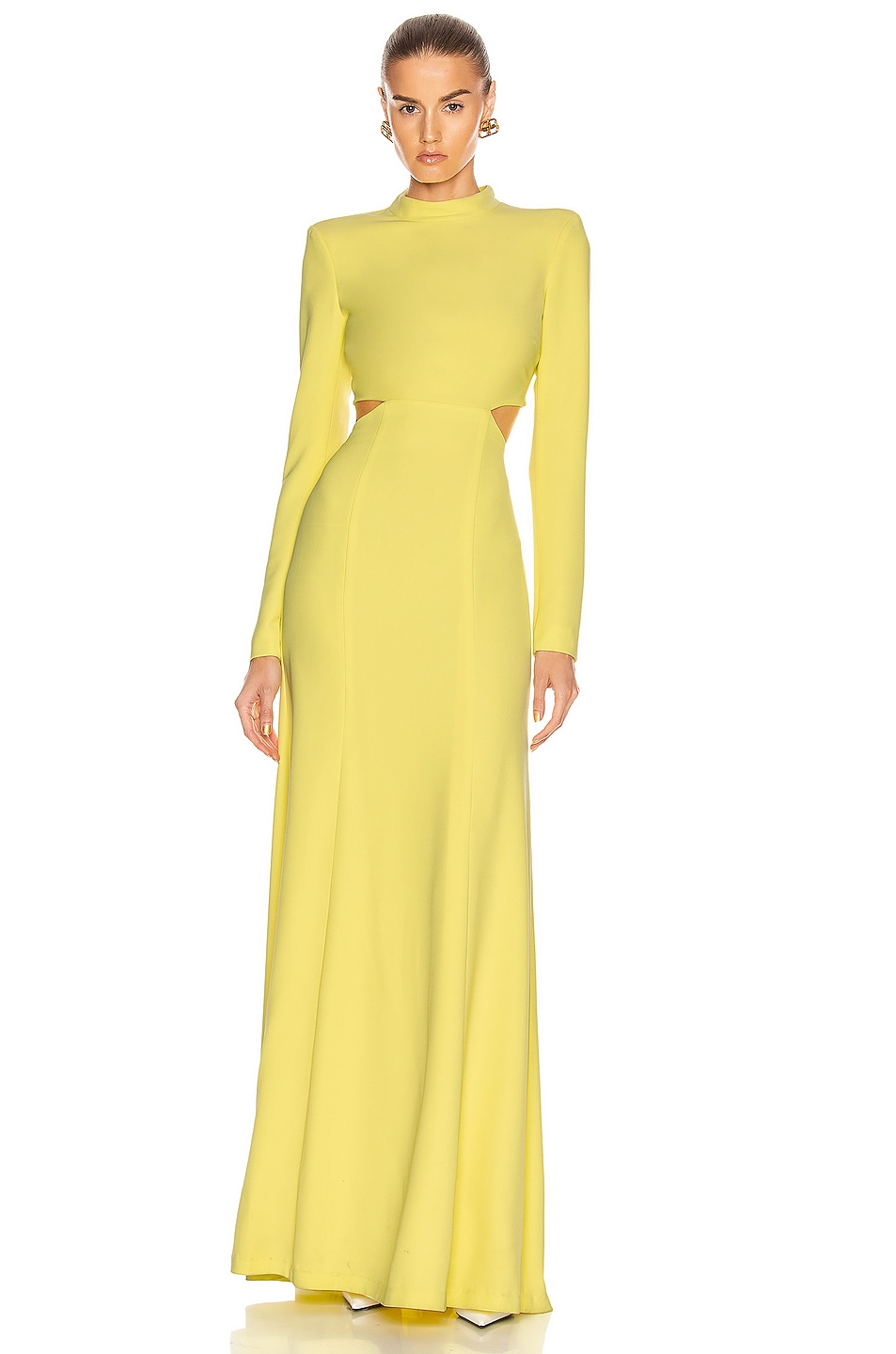 Image 1 of A.L.C. Gabriela Dress in Lemon