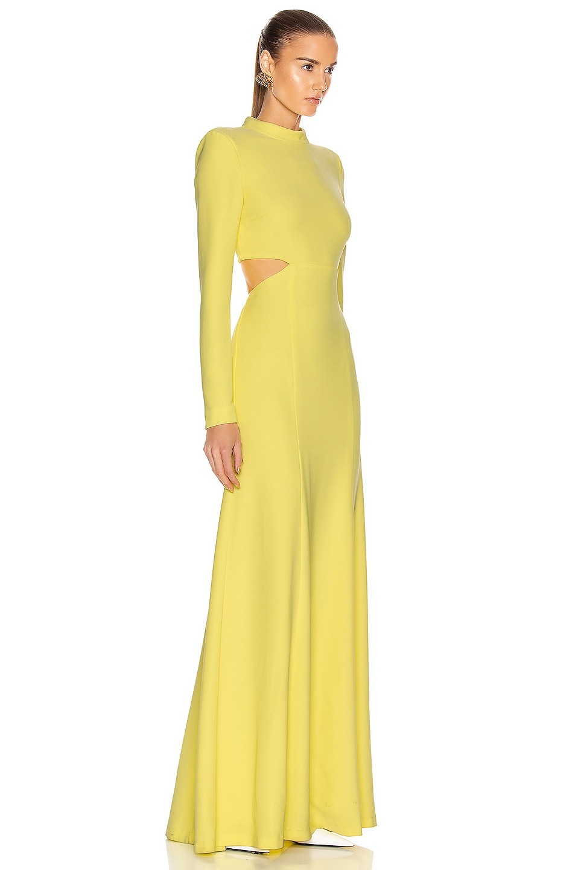 Image 2 of A.L.C. Gabriela Dress in Lemon