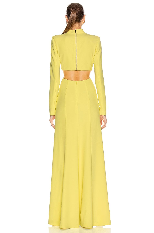 Image 3 of A.L.C. Gabriela Dress in Lemon