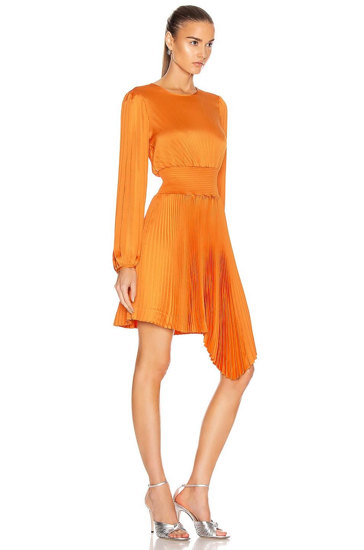 Image 2 of A.L.C. Behati Dress in Orange