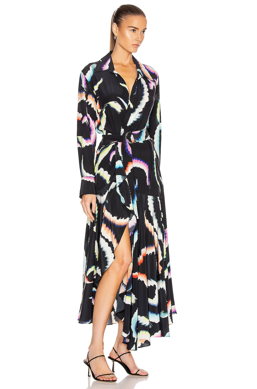 Image 2 of A.L.C. Amaya Dress in Midnight Multi
