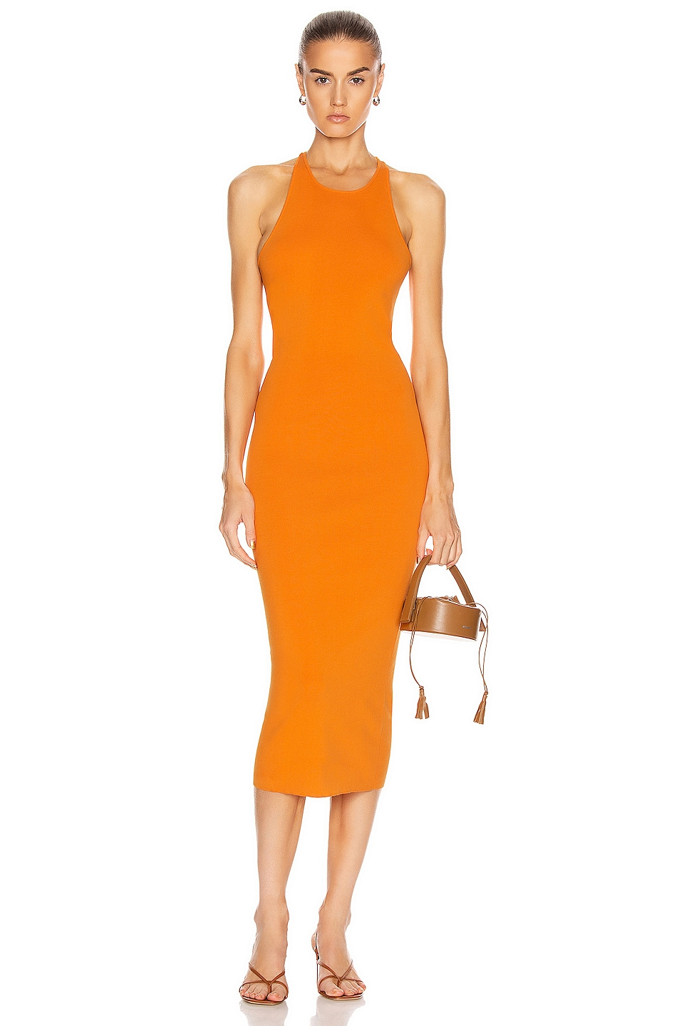 Image 1 of A.L.C. Marc Dress in Tangerine