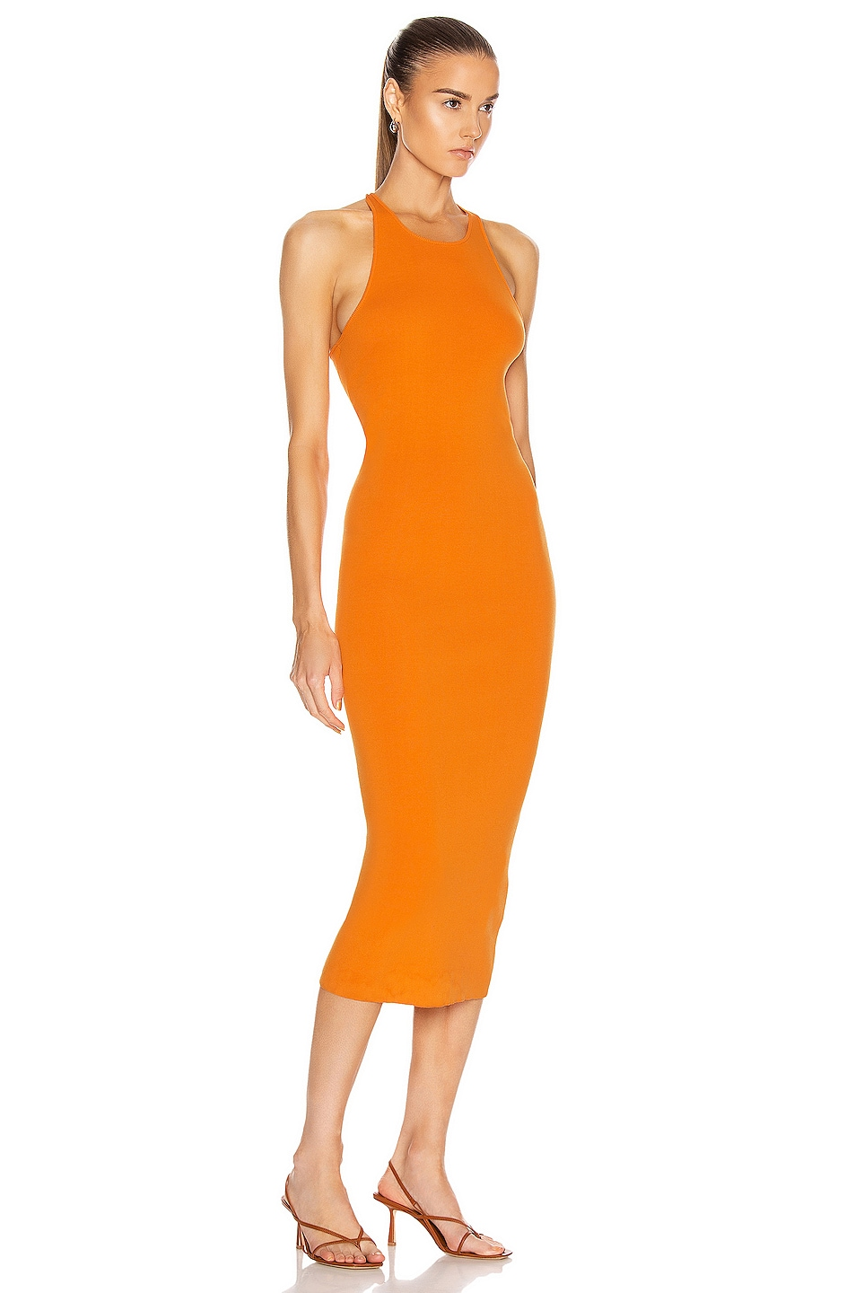 Image 2 of A.L.C. Marc Dress in Tangerine