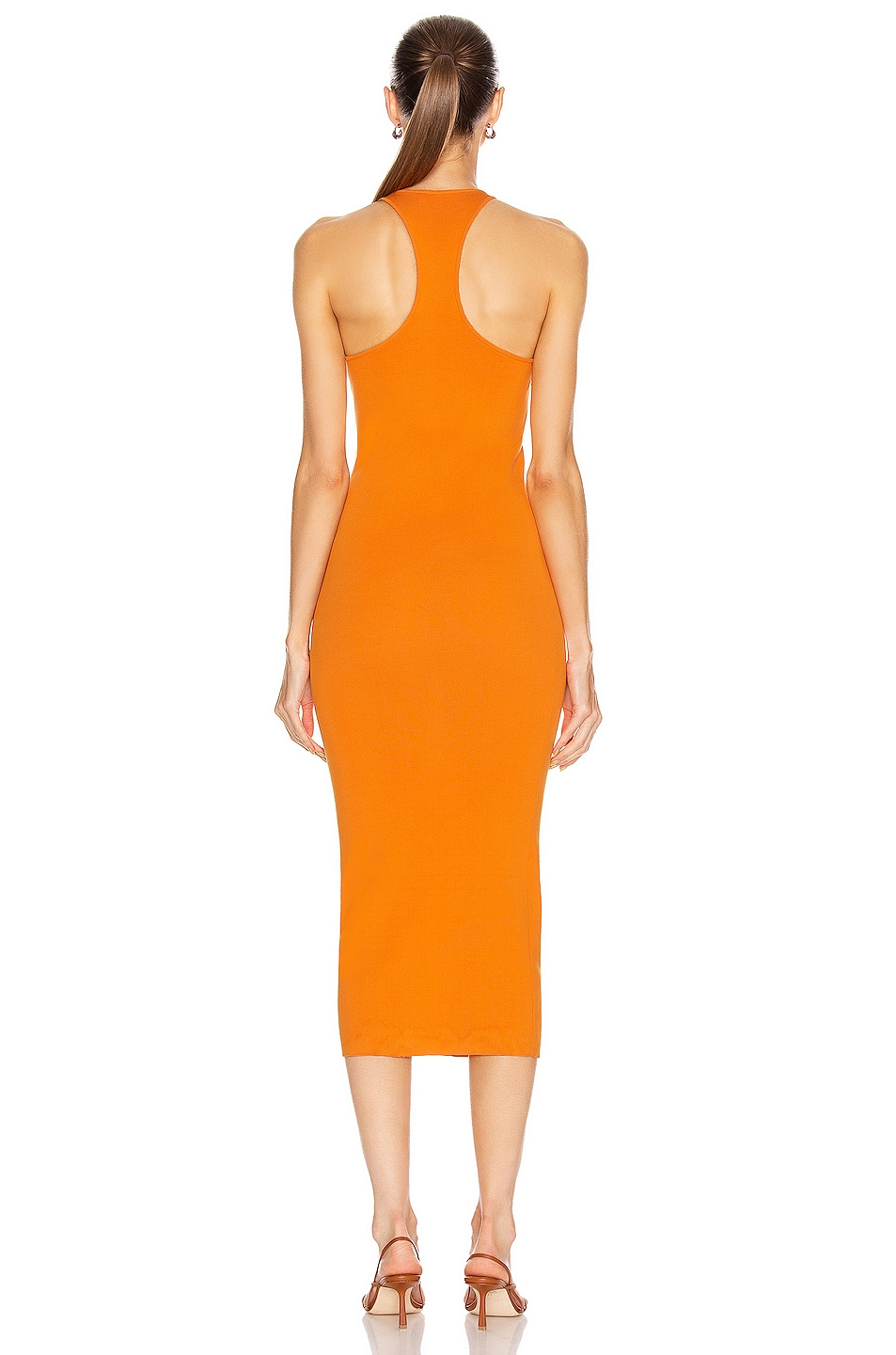 Image 3 of A.L.C. Marc Dress in Tangerine