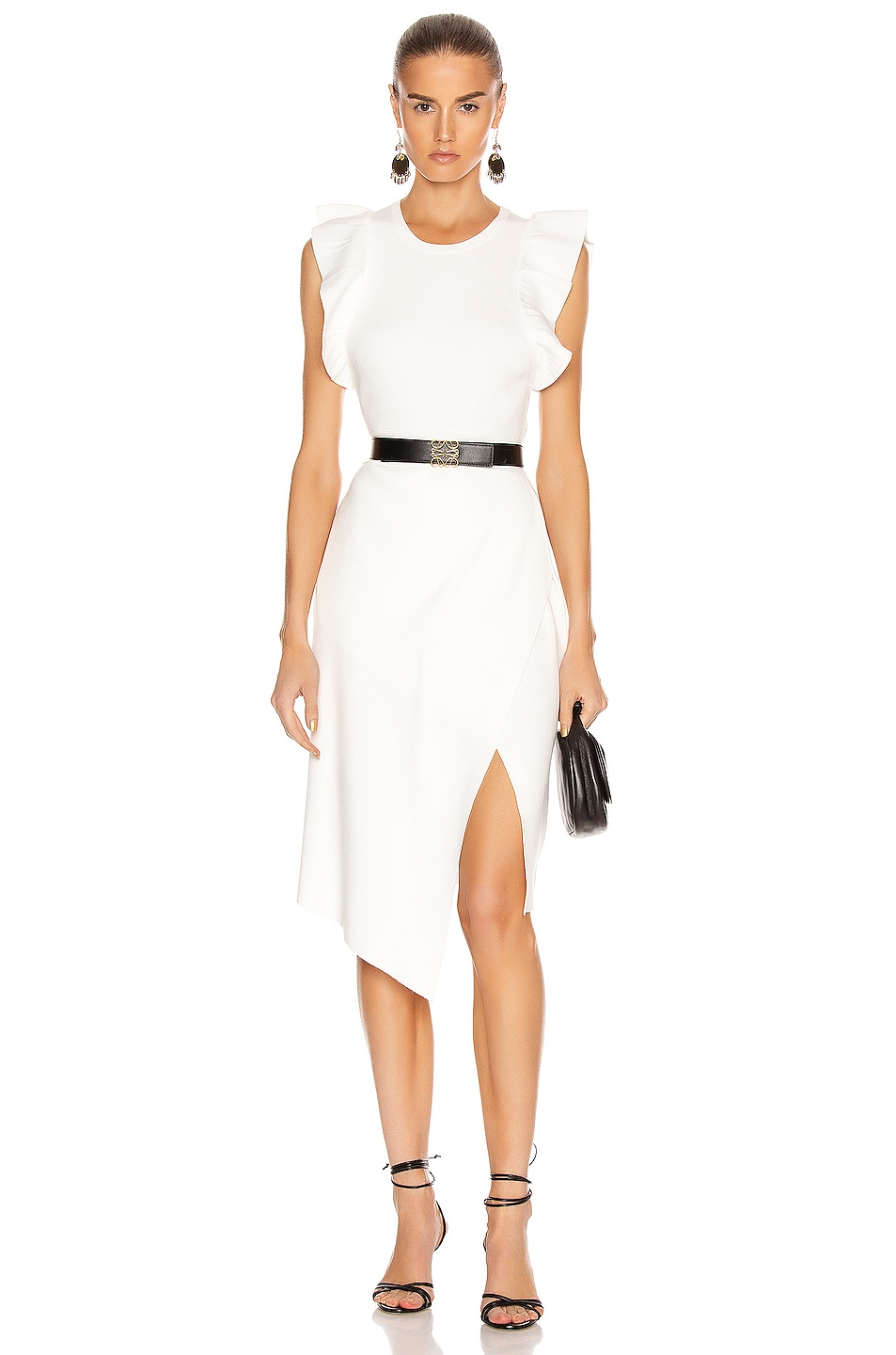 Image 1 of A.L.C. for FWRD Willow Dress in White