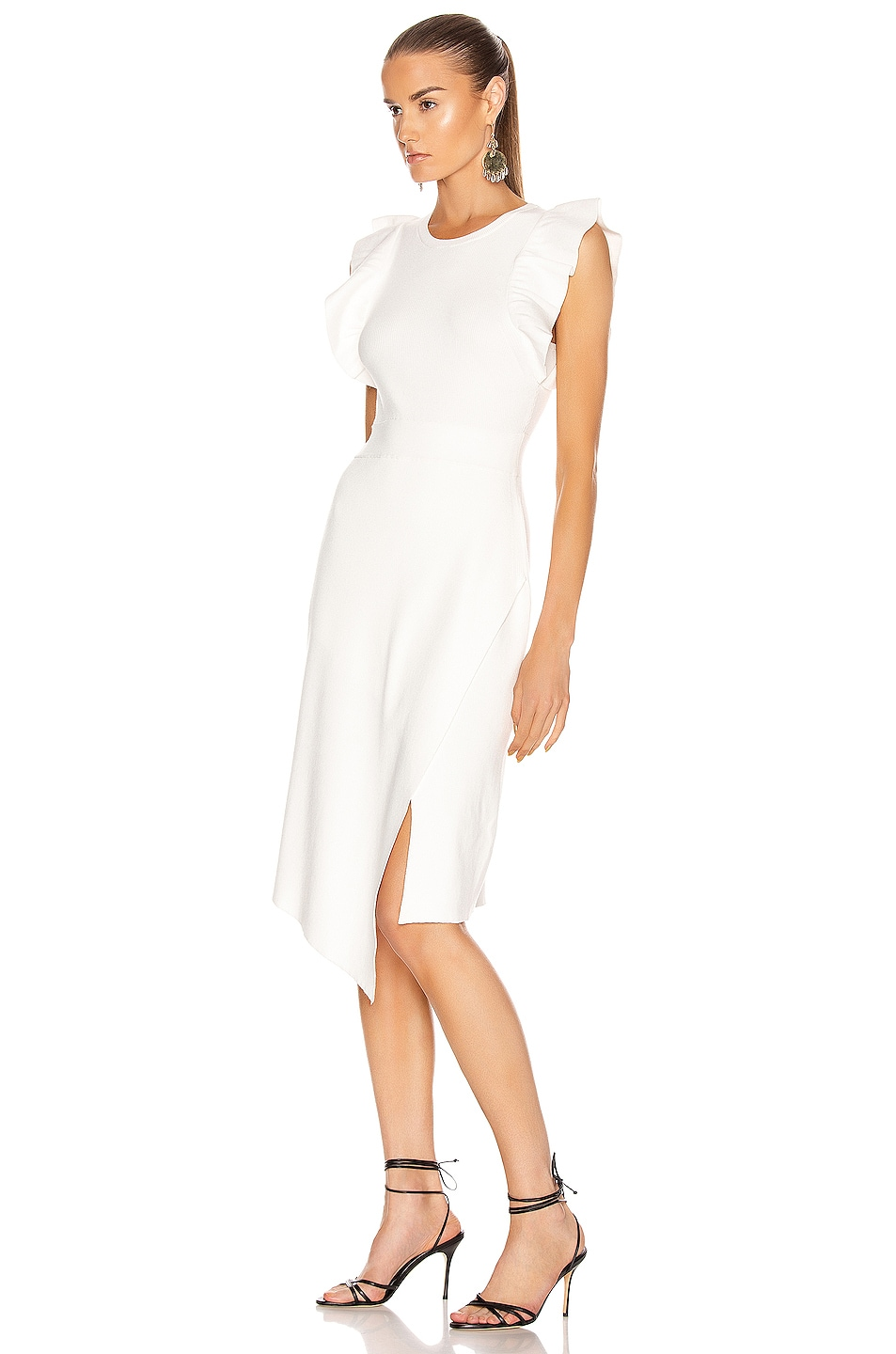 Image 3 of A.L.C. for FWRD Willow Dress in White