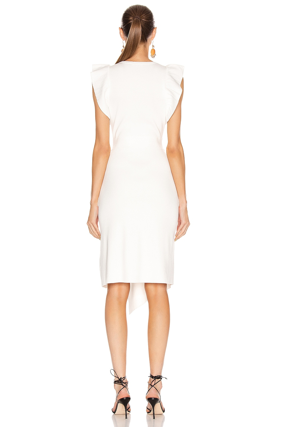 Image 4 of A.L.C. for FWRD Willow Dress in White