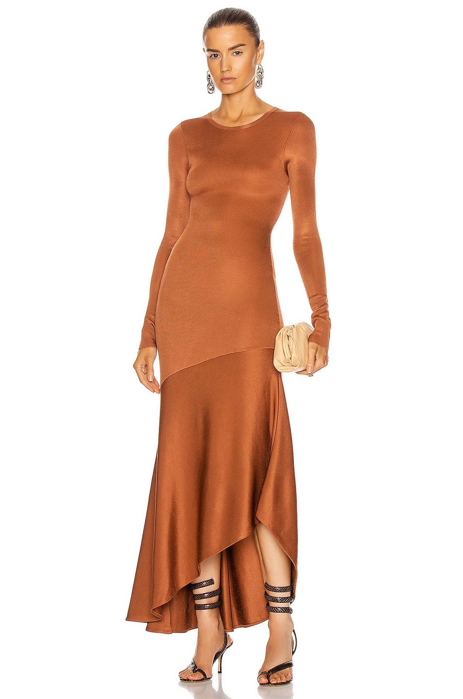 Image 1 of A.L.C. Daphne Dress in Allspice
