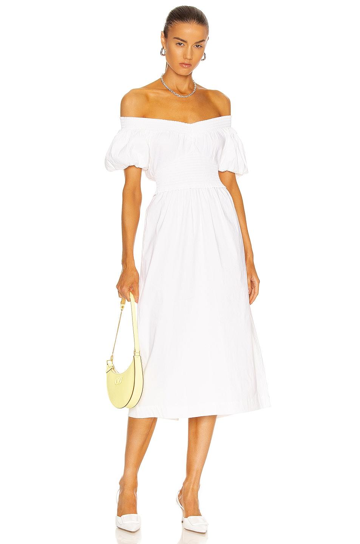Image 1 of A.L.C. Adena Dress in White